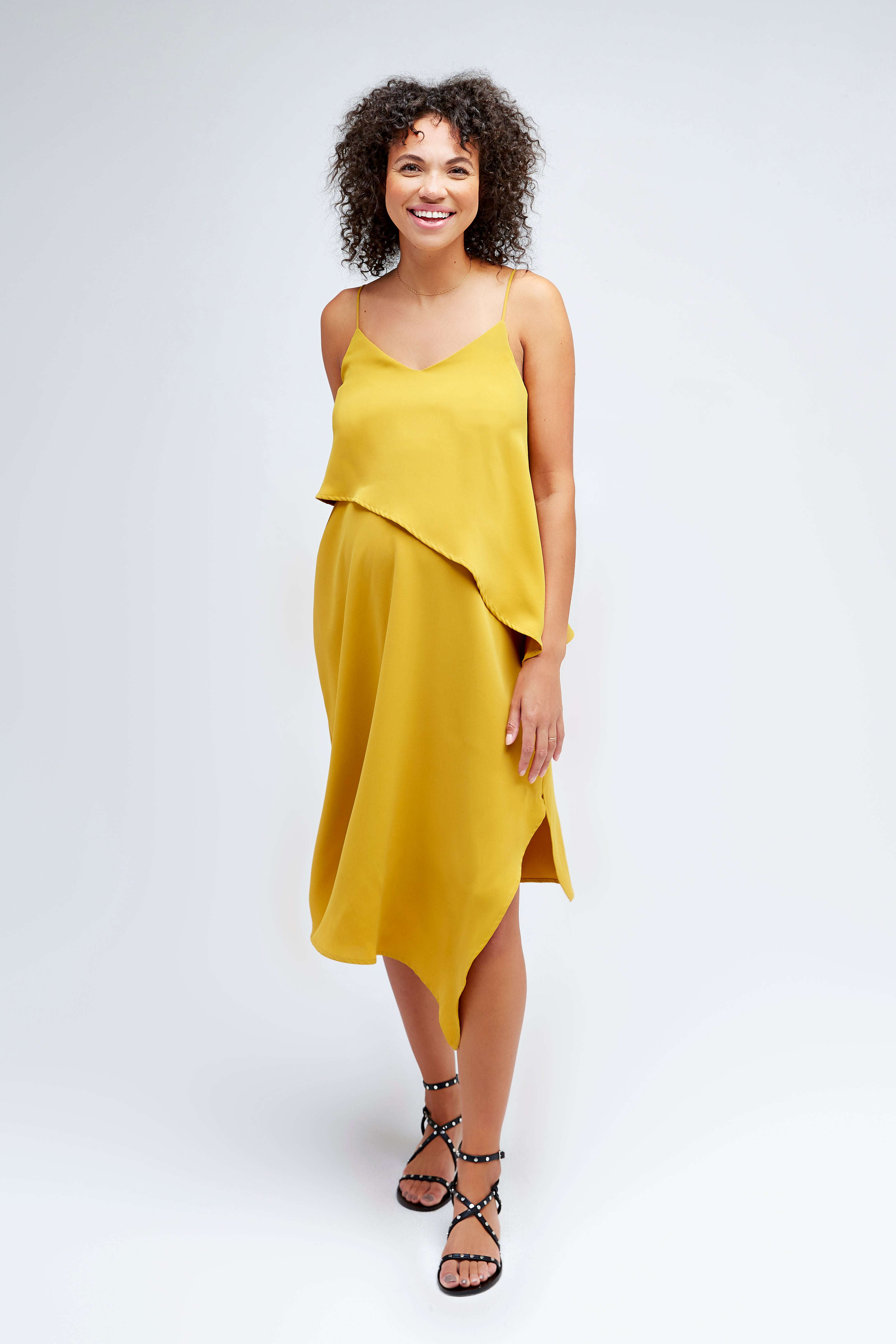 Beatrice Maternity + Nursing Dress