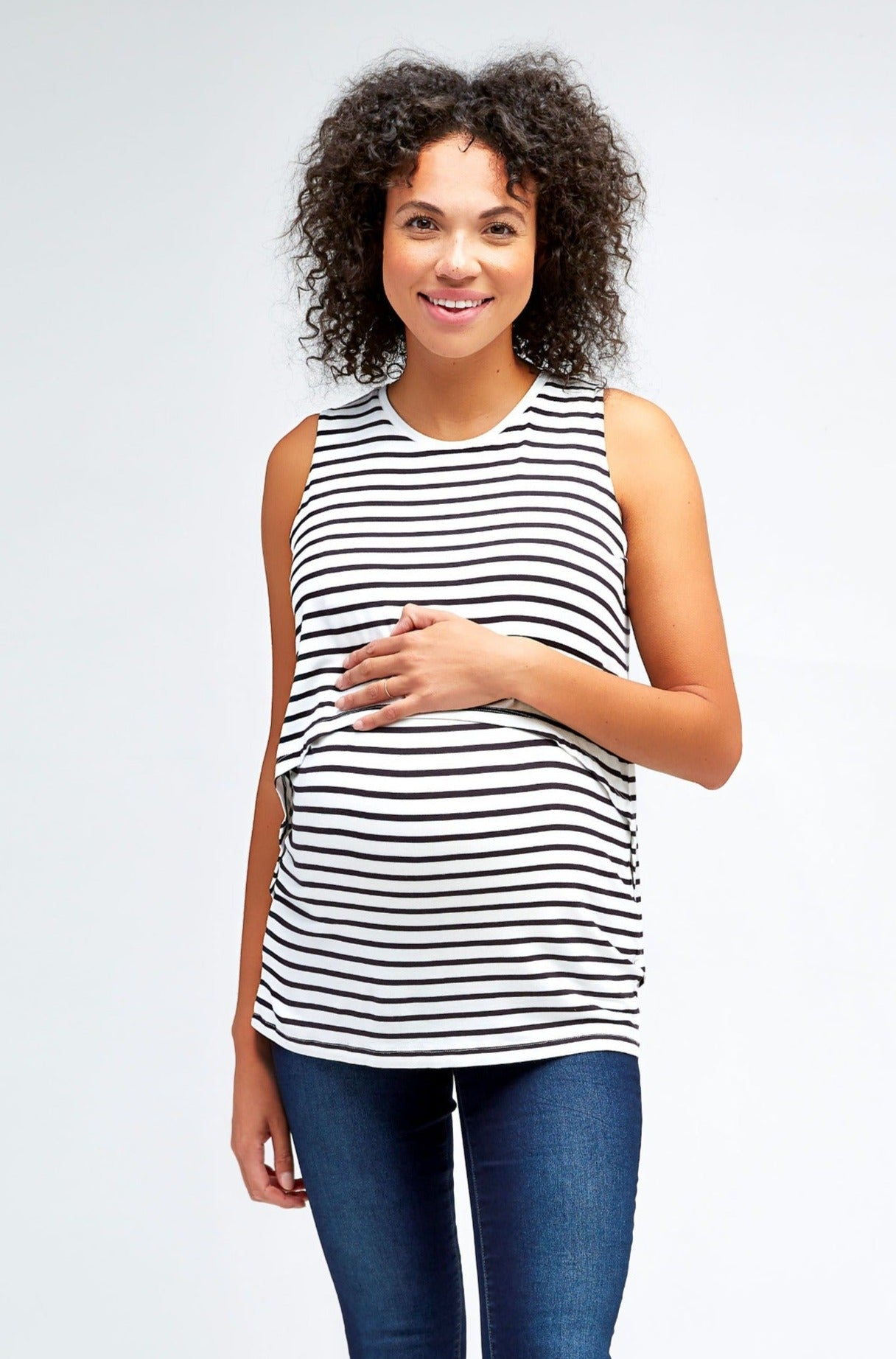 Sophia Maternity + Nursing Top