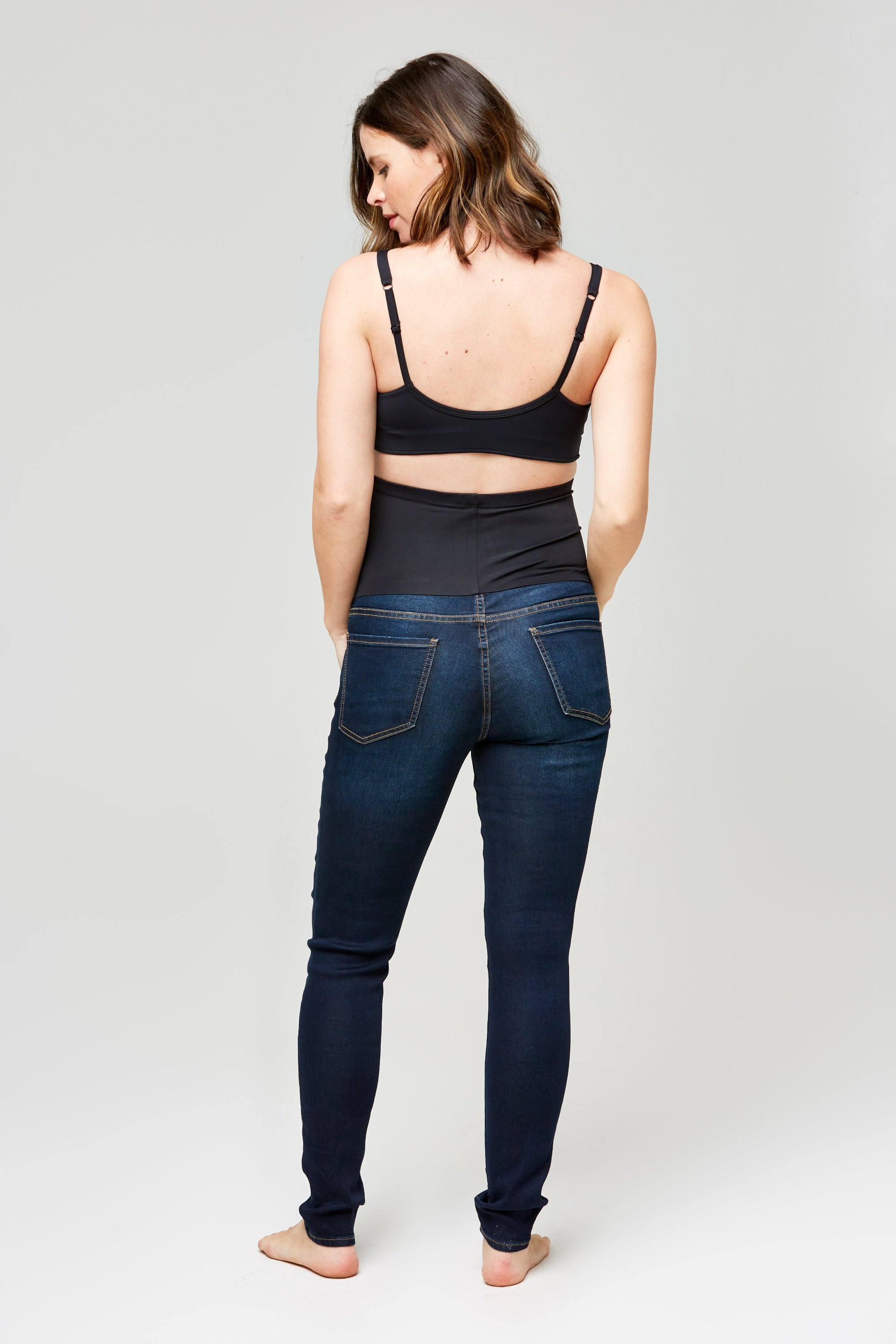 Soho maternity denim in dark wash