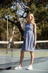 Molly Maternity Dress <br> Gingham
