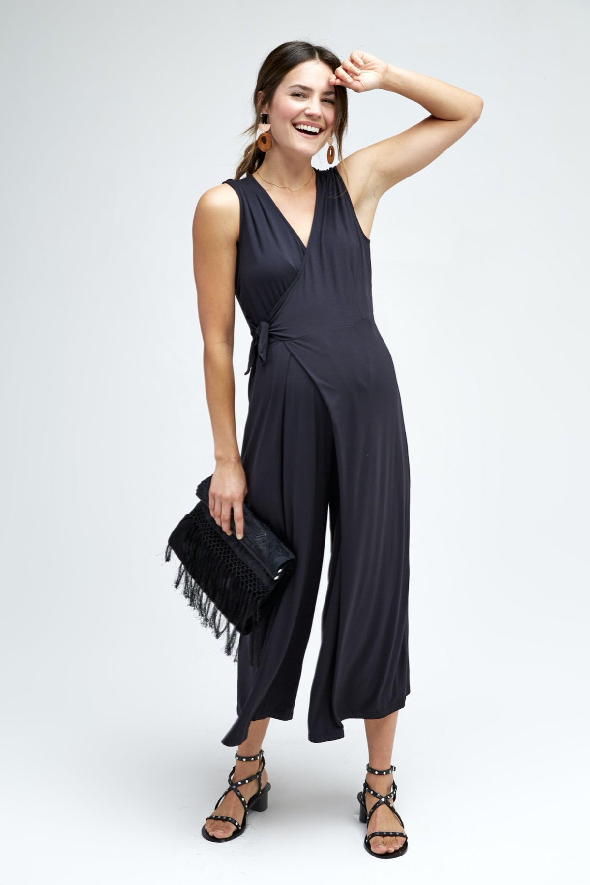 Francesca Jumpsuit in Black