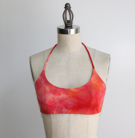Ashley Top: Hot Lava & Red