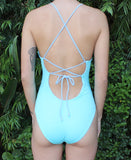 Paola One Piece: Periwinkle & Marine