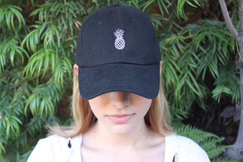 Pineapple Hat: Black