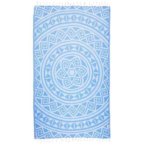 Iris Beach Towel