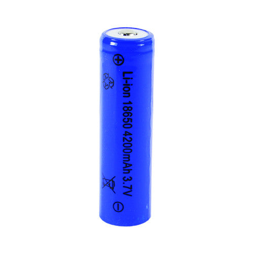 Rechargeable 18650 4200mAh Lithium Battery