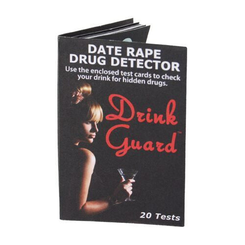 Drink Guard™ Date Rape Drug Detector - CYA Be Safe