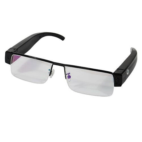 HD Eye Glasses Hidden Spy Camera with Built In DVR - CYA Be Safe