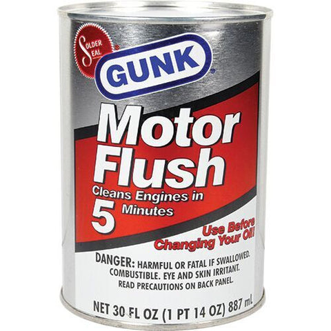 Gunk Motor Flush Diversion Safe - CYA Be Safe