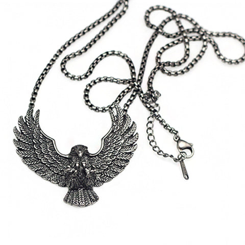 Eagle Pendant Necklace for Men and Women