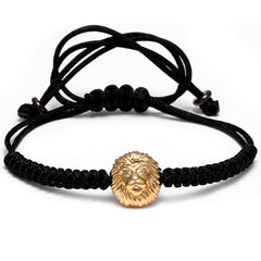 Lion Head Bracelet for Men and Women