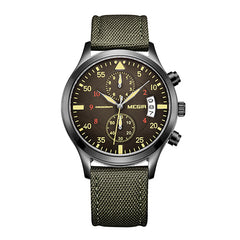 Original Fashion Canvas Military Watch for Men Male