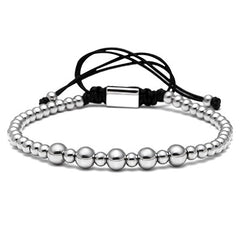 Stainless Steel Beaded Bracelet for Women
