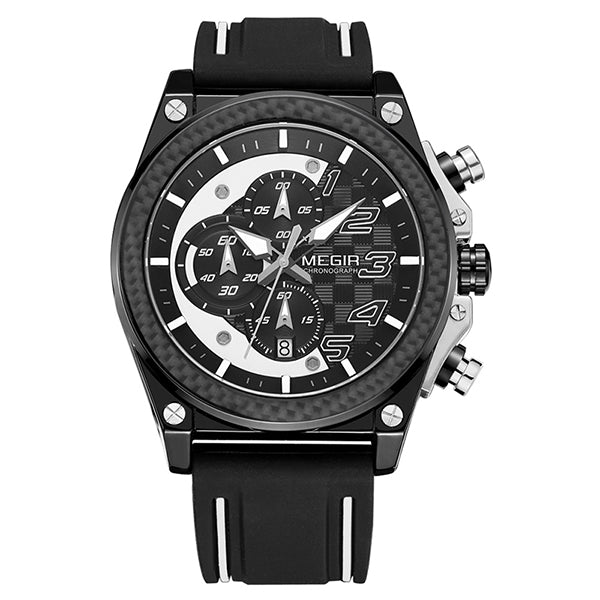 Wristwatch Silicone Army Military Watches for Men