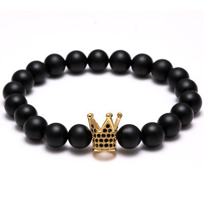 King Crown Bracelet for Men - BraceletsDR