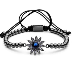 Sunflower Beaded Bracelet for Men and Women - BraceletsDR