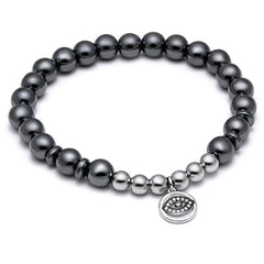 Black Evil Eye Bracelet for Men