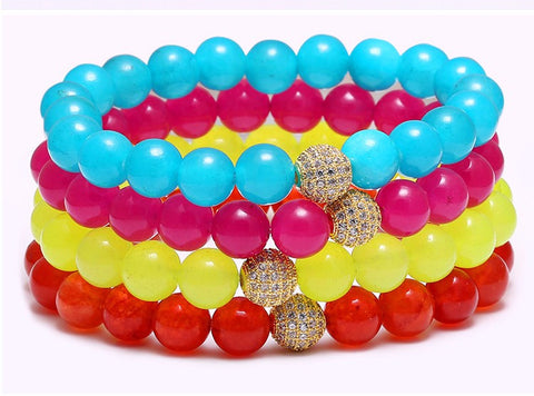 Fluorescent Bright Colors Bracelet for Women - BraceletsDR