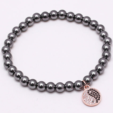Taiji Symbol Bracelet for Men - BraceletsDR