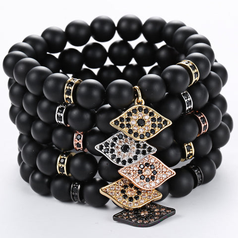Tiger Eyes Luxury Bracelet for Men - BraceletsDR