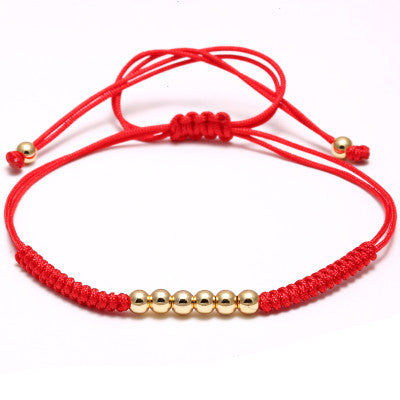 Macrame Bracelet with Small Beads for Men and Women - BraceletsDR