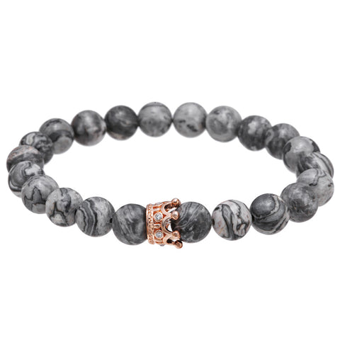 One Crown Luxury Bracelet for Men - BraceletsDR