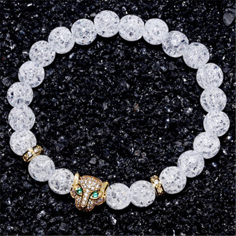 Luxury Leopard Head Bracelet for Women - BraceletsDR