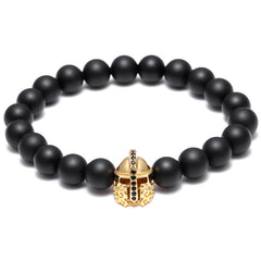 Warrior's Helmet Luxury Bracelet for Men - BraceletsDR