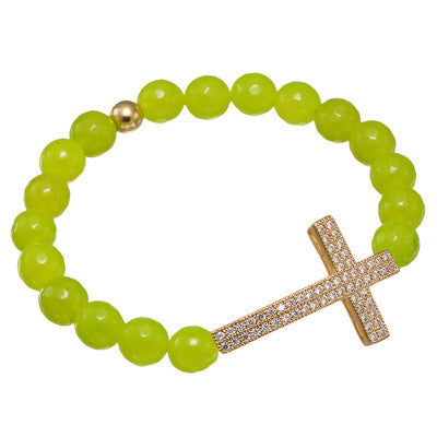 Lucky Cross Bracelet for Women - BraceletsDR