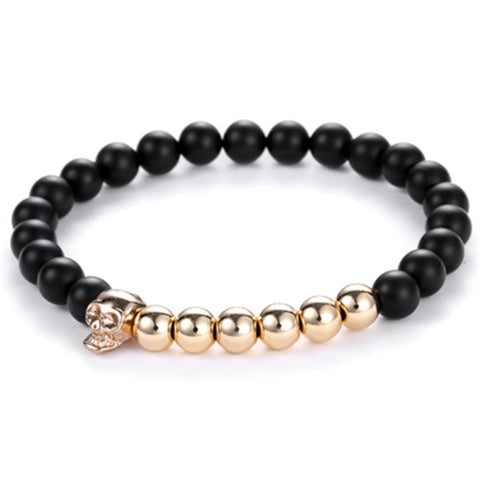 Black Coral Rock Bracelet for Men - BraceletsDR