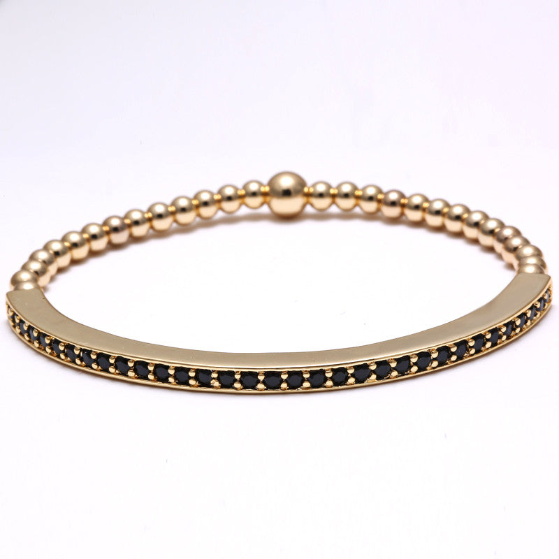 One gold stone Luxury Bracelet - REF0107 - BraceletsDR