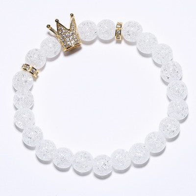 Crystal Crown Luxury Bracelets - REF0033 - BraceletsDR
