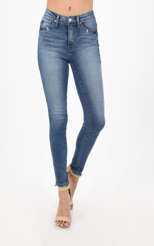 High Rise Skinny Light Denim