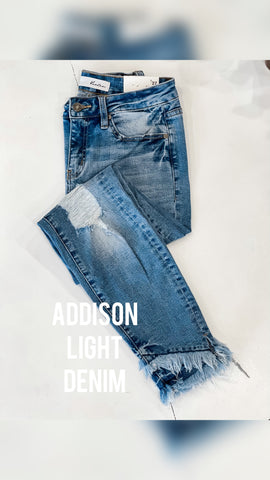 Addison Light Rinse Denim