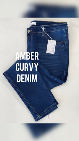 Amber Curvy Denim
