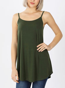 Army Green Reversible Cami