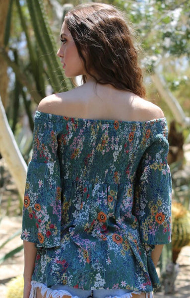 Pocketful of Posies Top