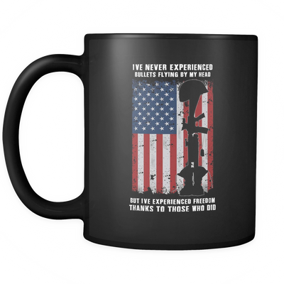 Thank Veterans For Freedom - 11oz Mug-The XYZ Shop