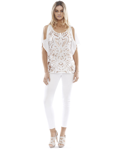 Eva Top: White