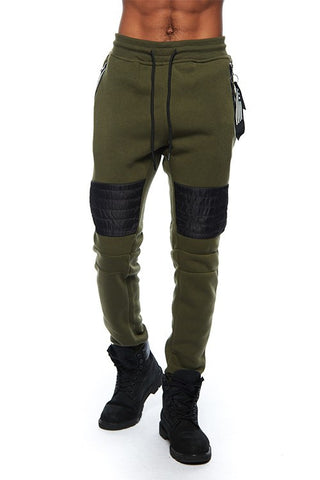 Southpole Two Tone Fleece Biker Jogger - Bred for Survival