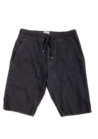 Jogger cut off short w/ drawstring - Grey - Bred for Survival