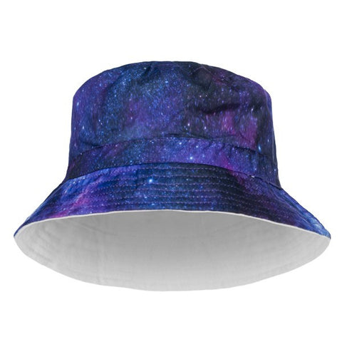 Galaxy Bucket Print Hat - Bred for Survival