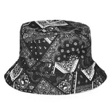 Bandana Black Design Printed Bucket Hat - Bred for Survival