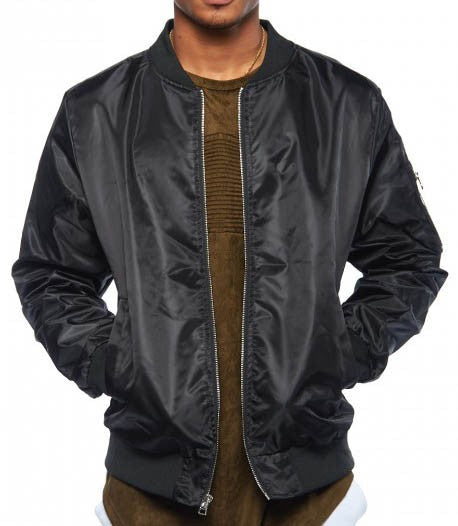 COATED WATER PROOF BOMBER JACKET