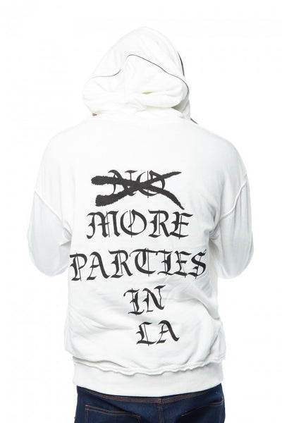"More Parties In La"" French Terry Hoodie - Bred for Survival"