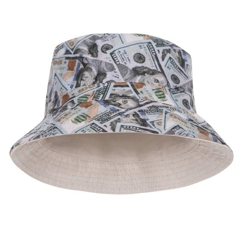 Dollar New Design Printed Bucket Hat - Bred for Survival