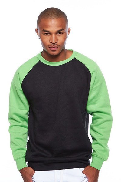 Imperious Color Block Crew Neck Sweater - Bred for Survival