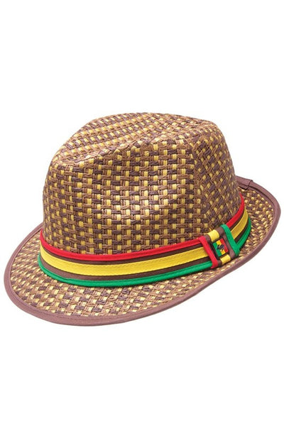 Jah Love Fedora Hat - Bred for Survival