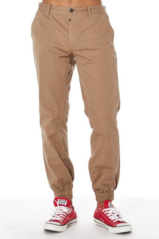 PREMIUM TWILL CHINO BASIC JOGGER - Bred for Survival