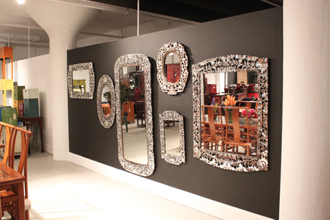 Thai Handcut Glass Mirrors at Zaar Design Center